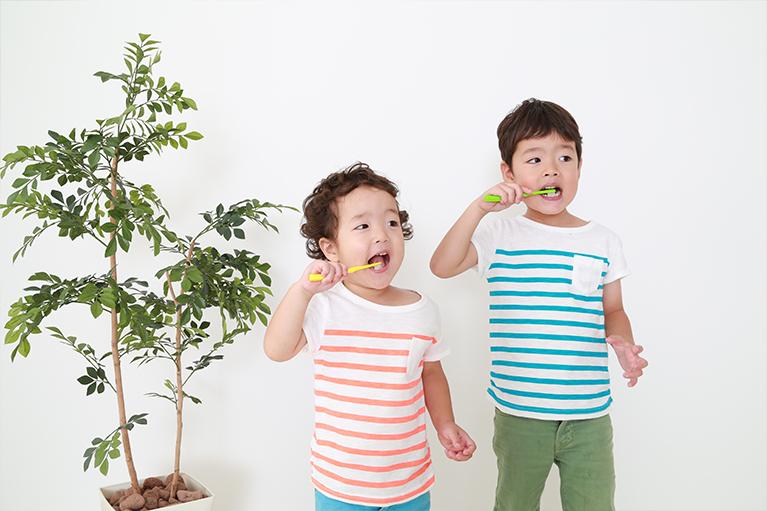 1歳~3歳までの歯磨きの仕方
